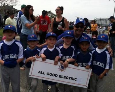 All Good Electric Little League Paul Leone Electrician